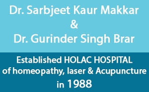 Dr Sarbjeet Kaur Makkar and Dr Gurinder Singh Brar Holac Hospital For Homeopathy in Mohali